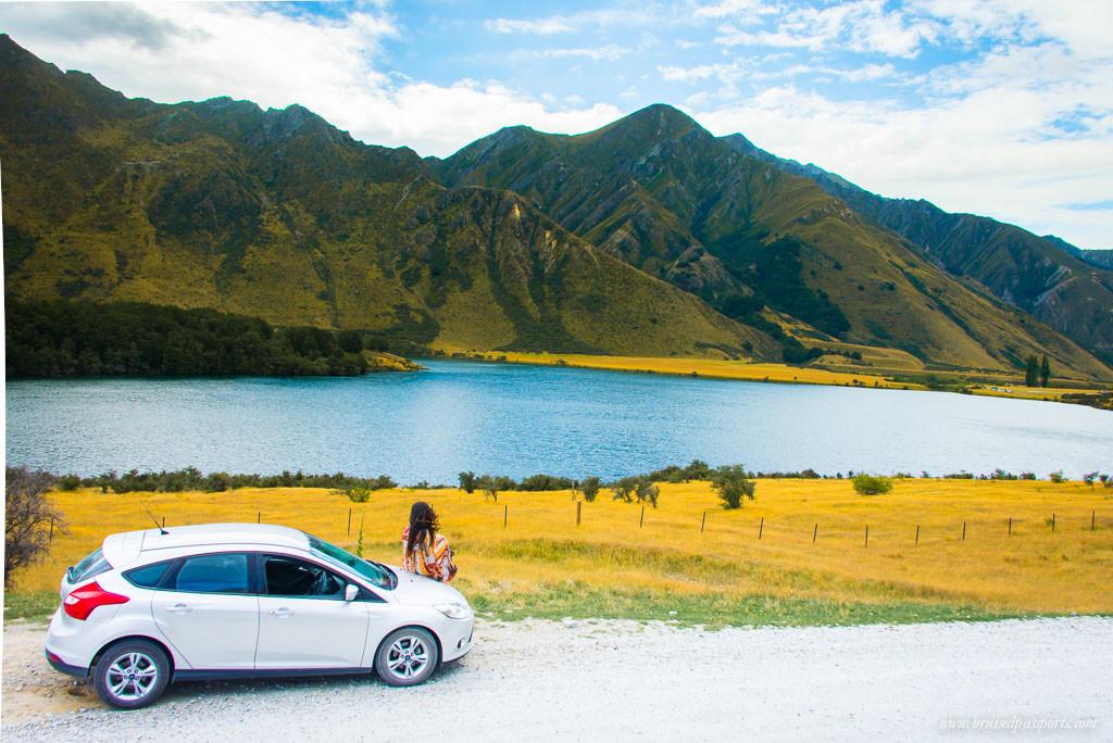 New Zealand Road Trip itinerary Queenstown drive Lake Moke