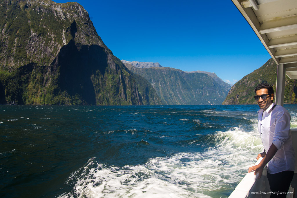 New Zealand Road Trip itinerary Milford Sound drive