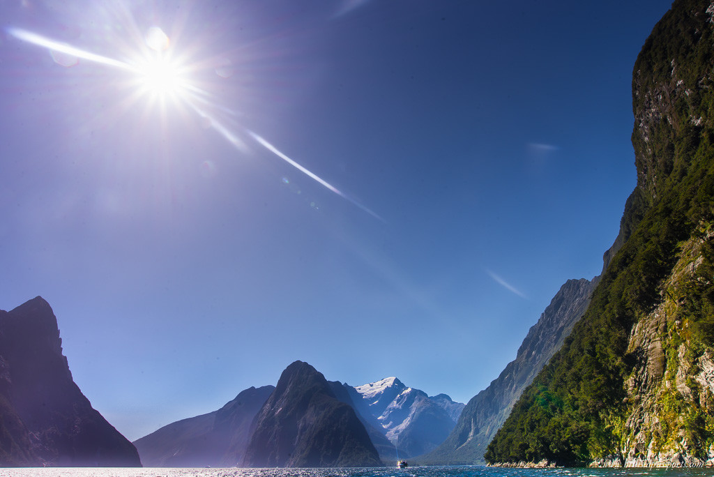 New Zealand Road Trip itinerary Milford Sound cruise