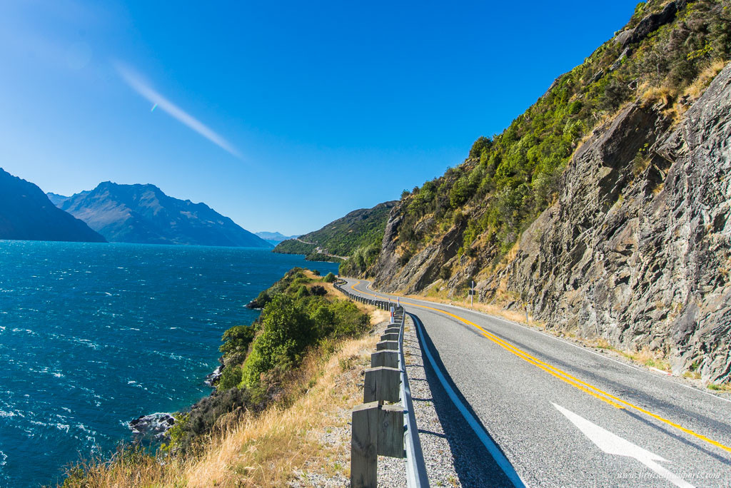 New Zealand Road Trip itinerary Queenstown drive