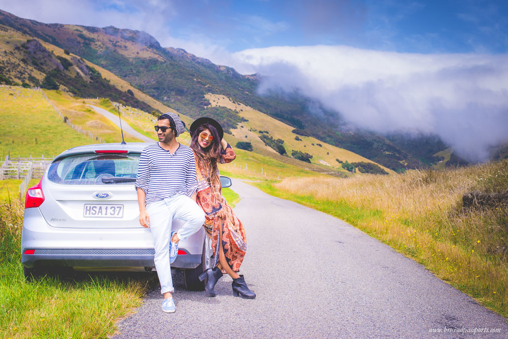 New Zealand Road Trip itinerary Christchurch couple travellers