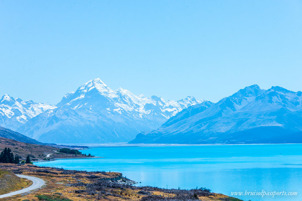 New Zealand Road Trip itinerary Lake Pukaki