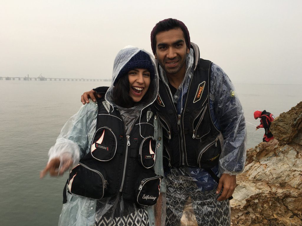 Indian travel blogger couple