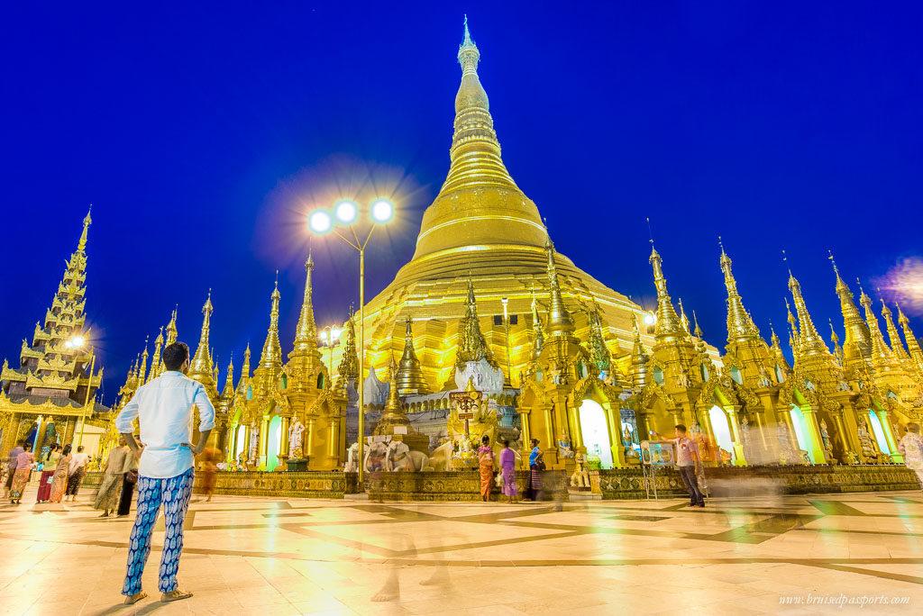 Myanmar Shwedagon Pagoda yangon