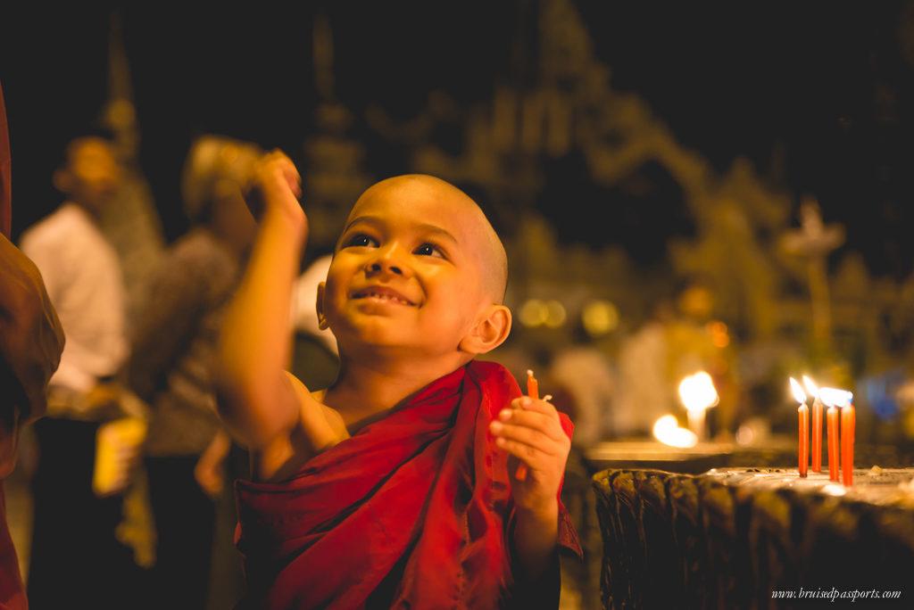 Myanmar planning itinerary yangon monk