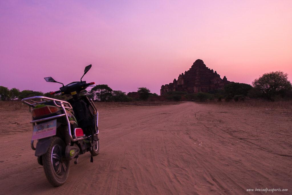 Bagan sunrise planning a trip to Myanmar