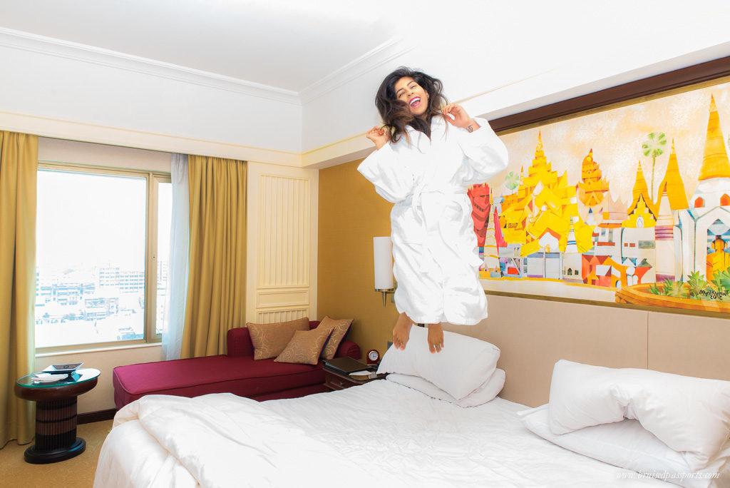 hotel room room Sule Shangri-La Yangon