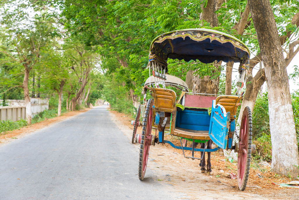 horse carriage in Mandalay Myanmar