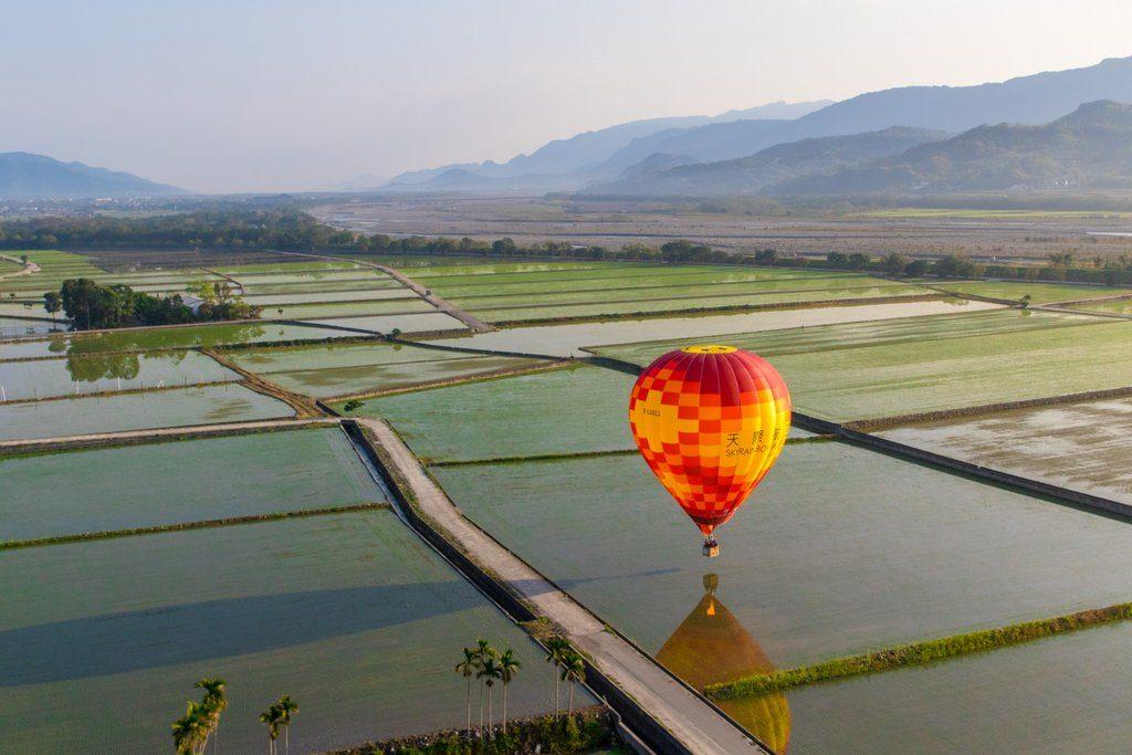 Taiwan Road Trip Hot Air Balloon