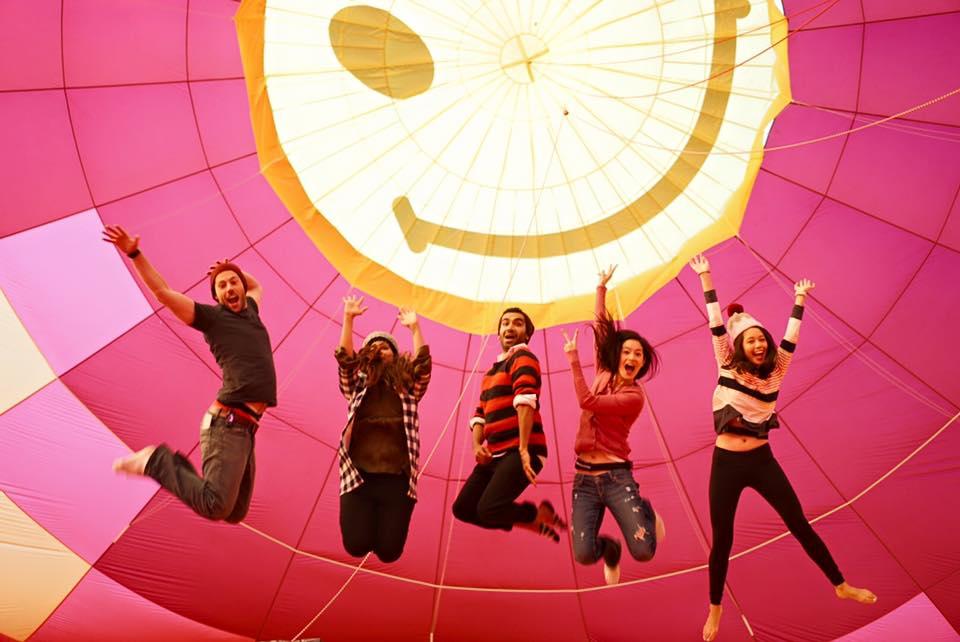 Taiwan Road Trip - Hot Air Balloon