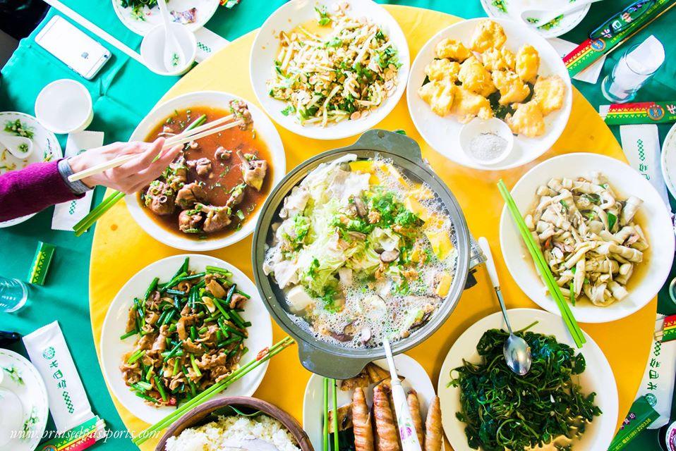 Taiwan Road Trip Food