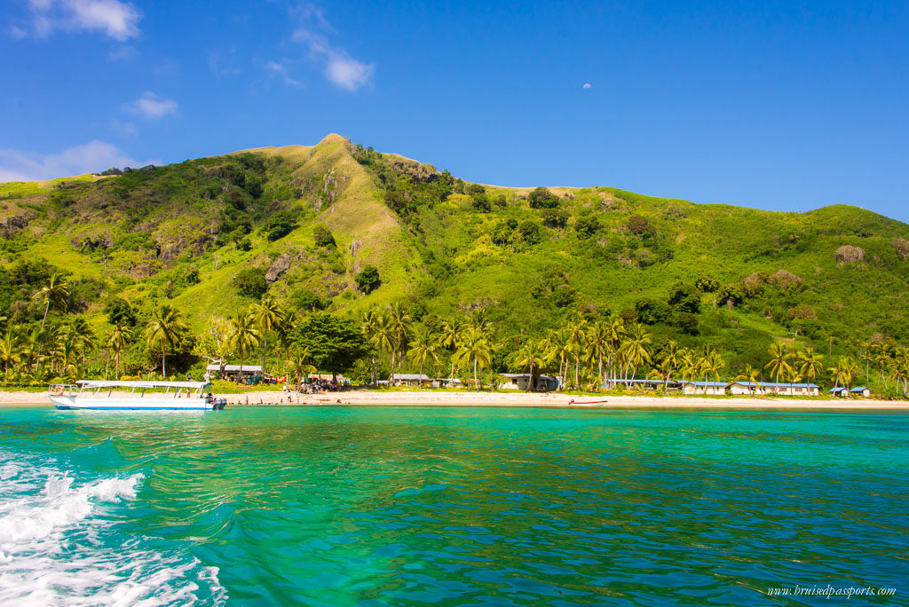 Fiji itinerary crystal clear water