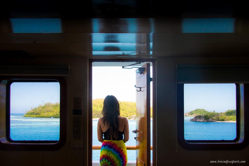 captain cook cruise cabin fiji islands