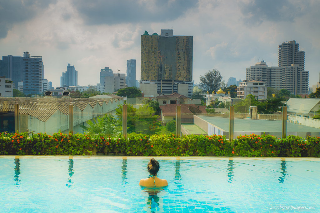 Marriott Sukhumvit Executive Apartments Bangkok Infinity Pool