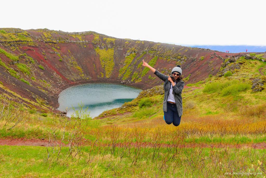 Lake Kerid Iceland