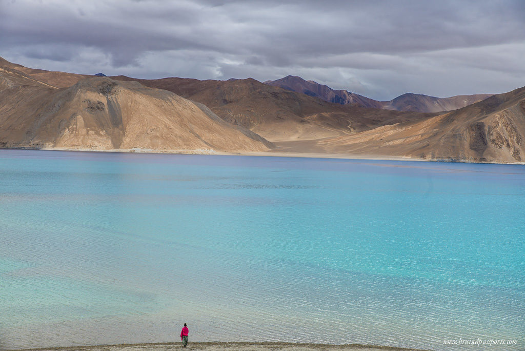 View of Pangong Lake from Pangong Inn
