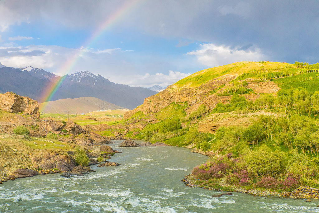 rainbow in Drass Kargil India