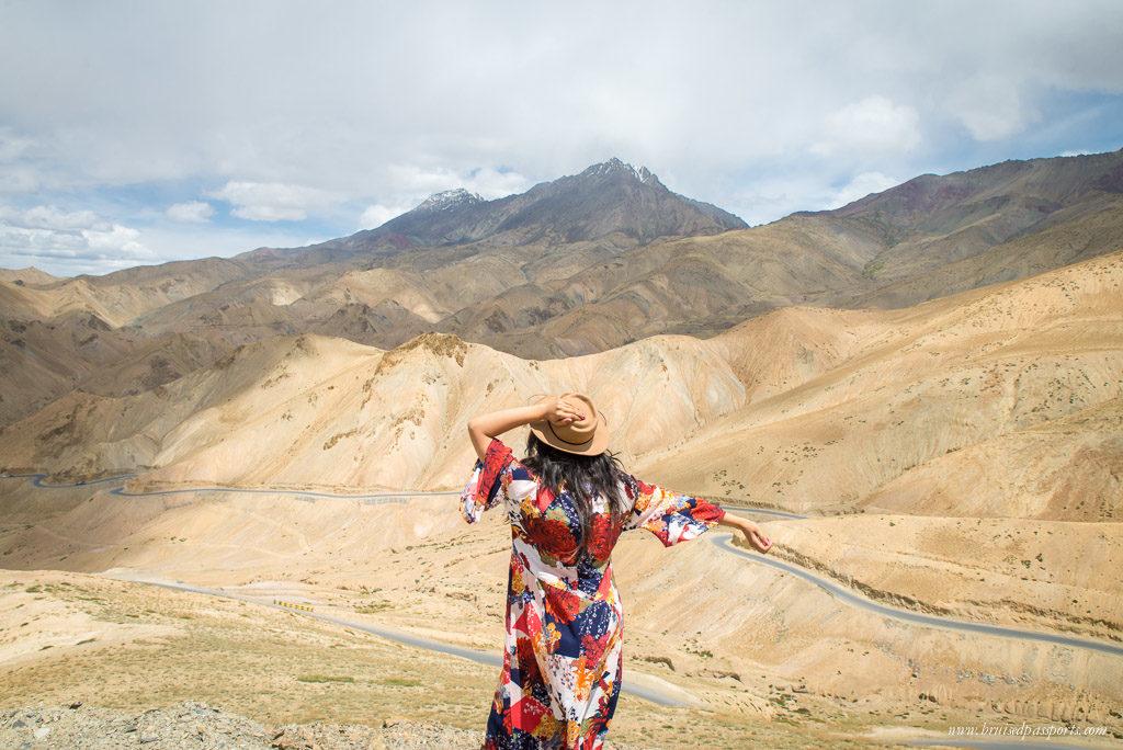 Ladakh road trip scenic road