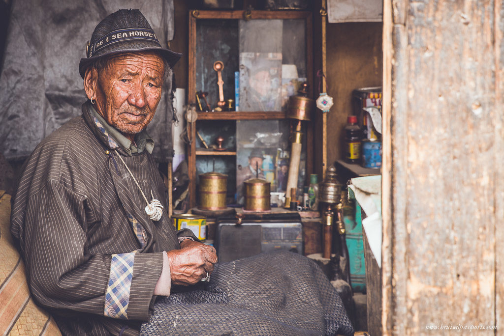 oldest living craftsmen in Leh