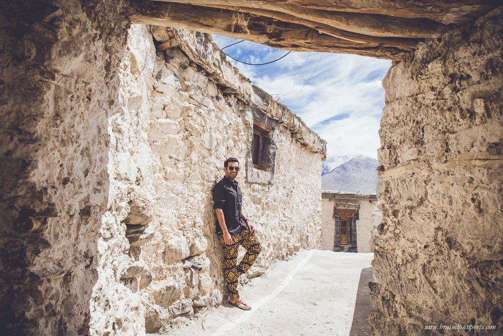 Exploring Diskit Monastery in Nubra Valley, Ladakh