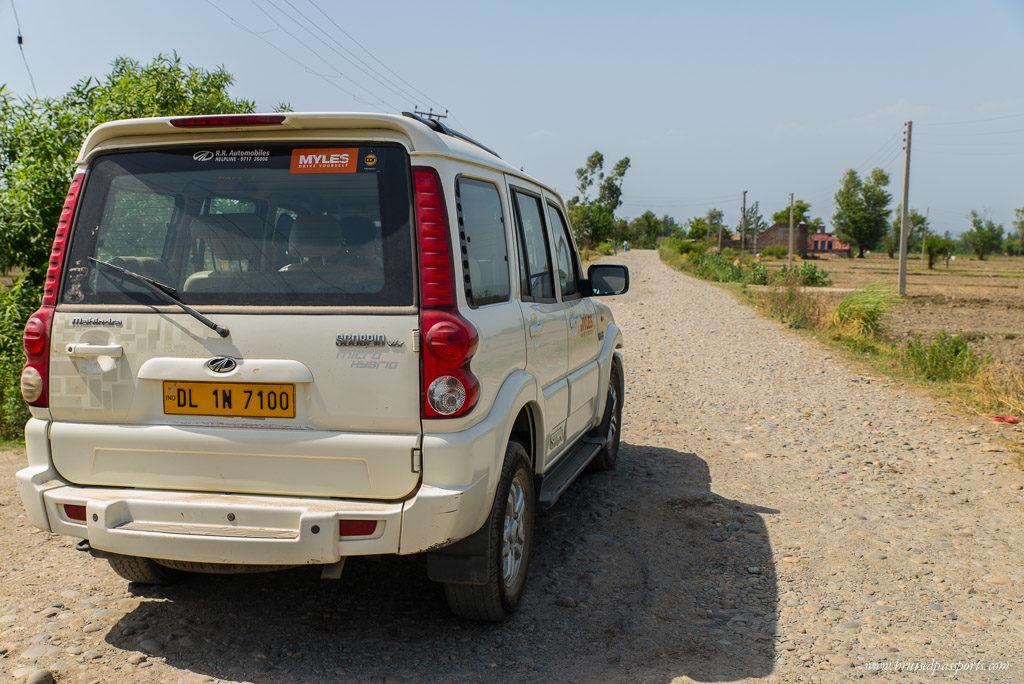 backroad India road trip