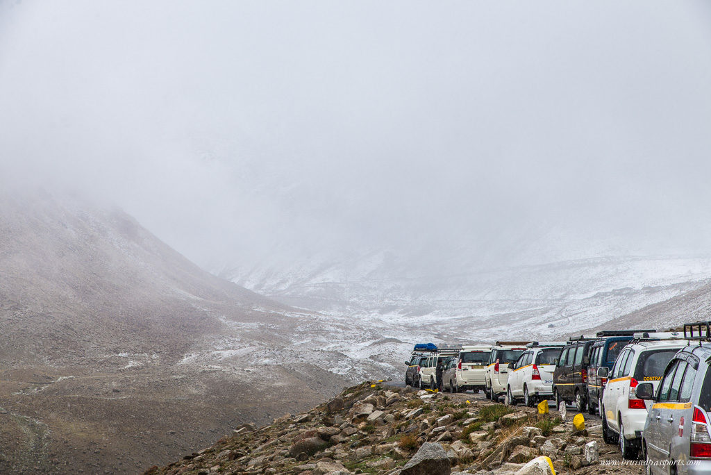 Traffic jams & precarious roads - the inevitable downsides of a road trip to Ladakh