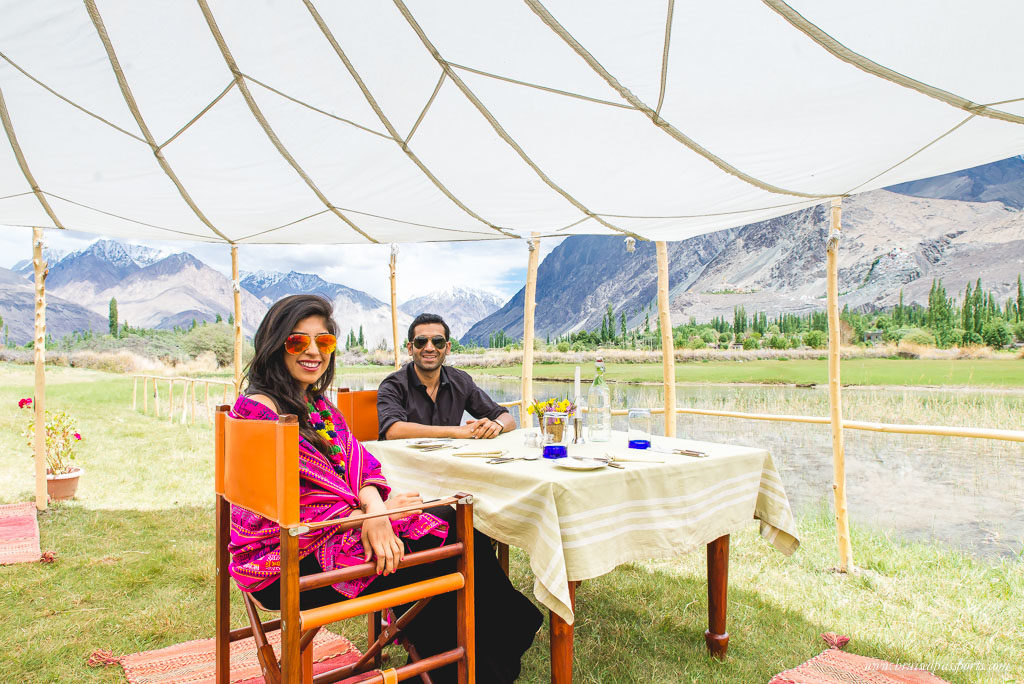 luxury camping ladakh