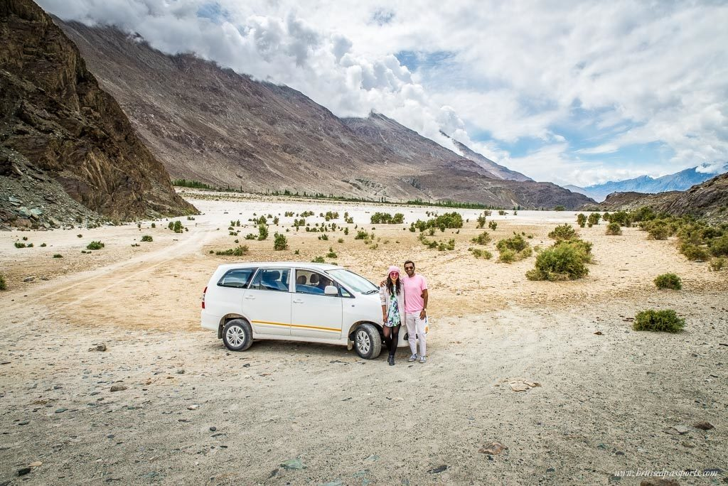 Offroading in Nubra Valley Ladakh