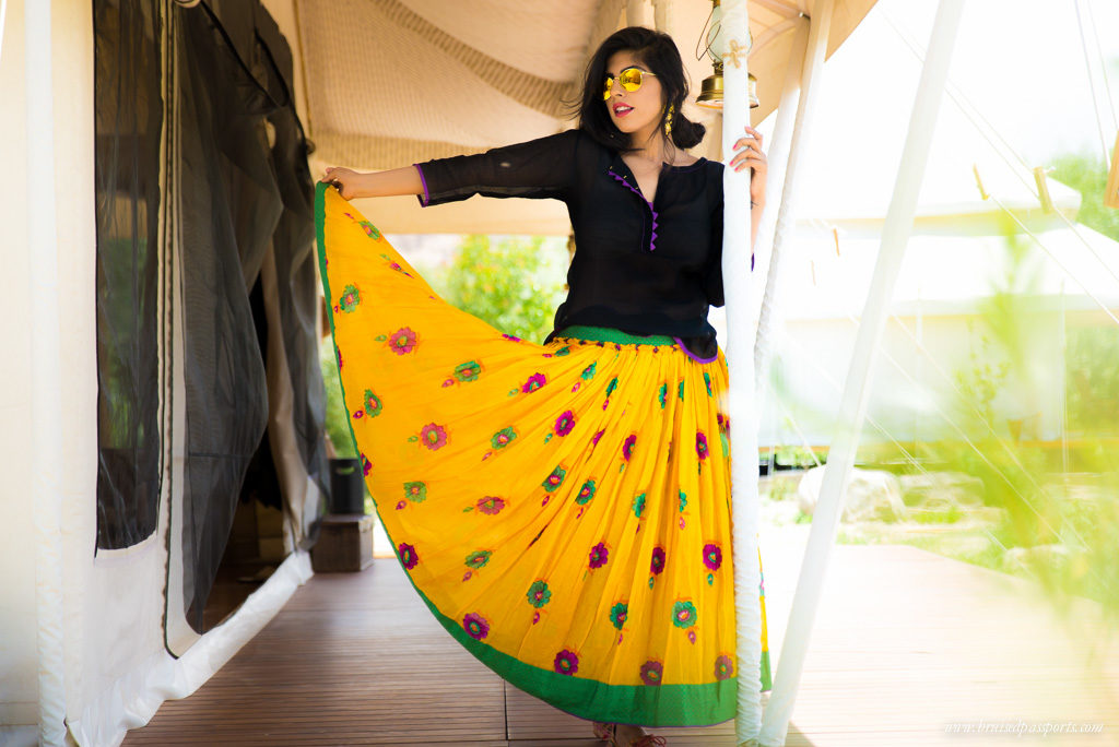 Decadent glamping days call for prancing in bohemian threads