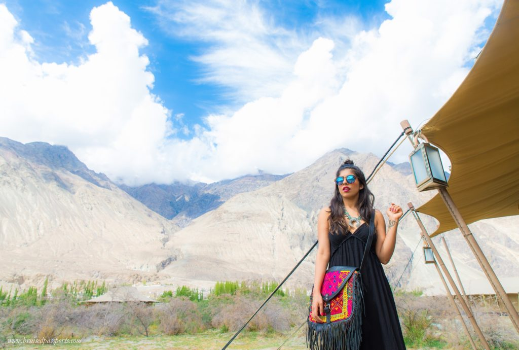 Travel Fashion Packing for roadtrip in Ladakh India