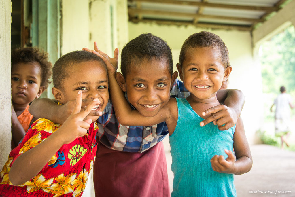 Sigatoka river safari village kids fiji itinerary