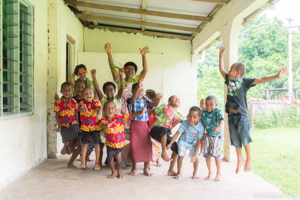 Visiting a tiny Fijian village with SIgatoka River Safari
