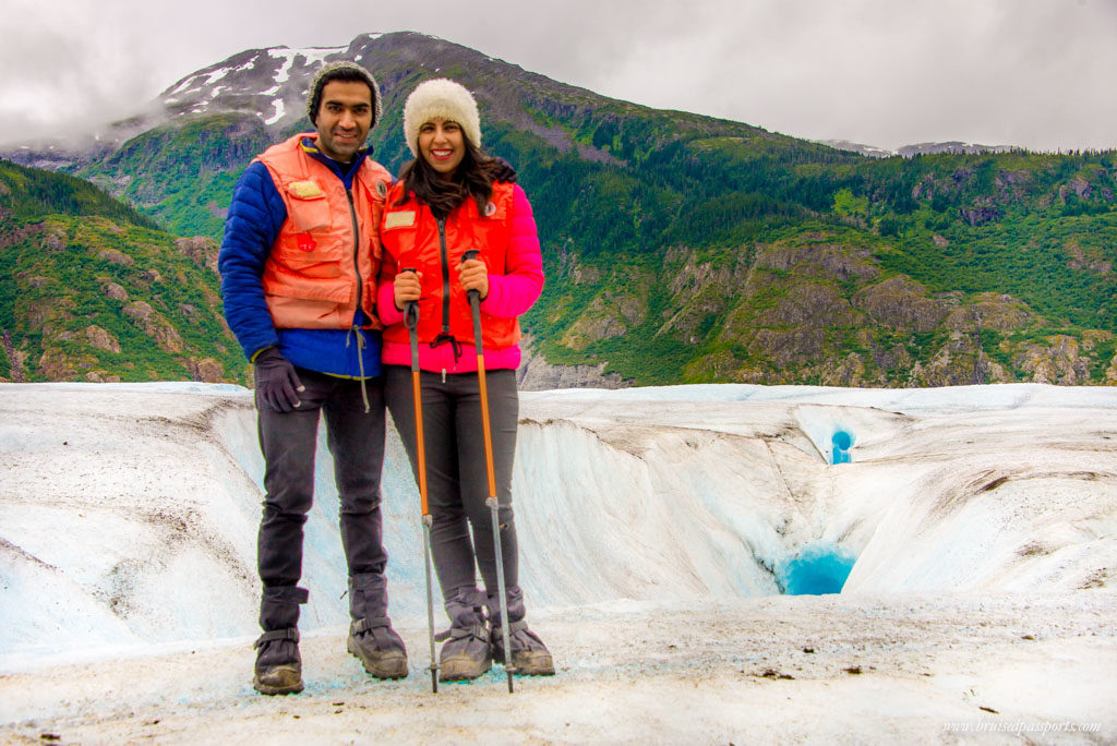 Hiking a glacier in Alaska - one of the best experiences on a Alaskan cruise