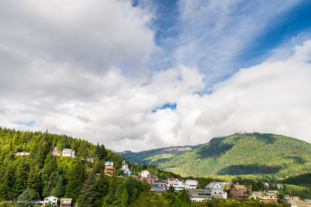 The fairy tale town of Ketchikan in Alaska