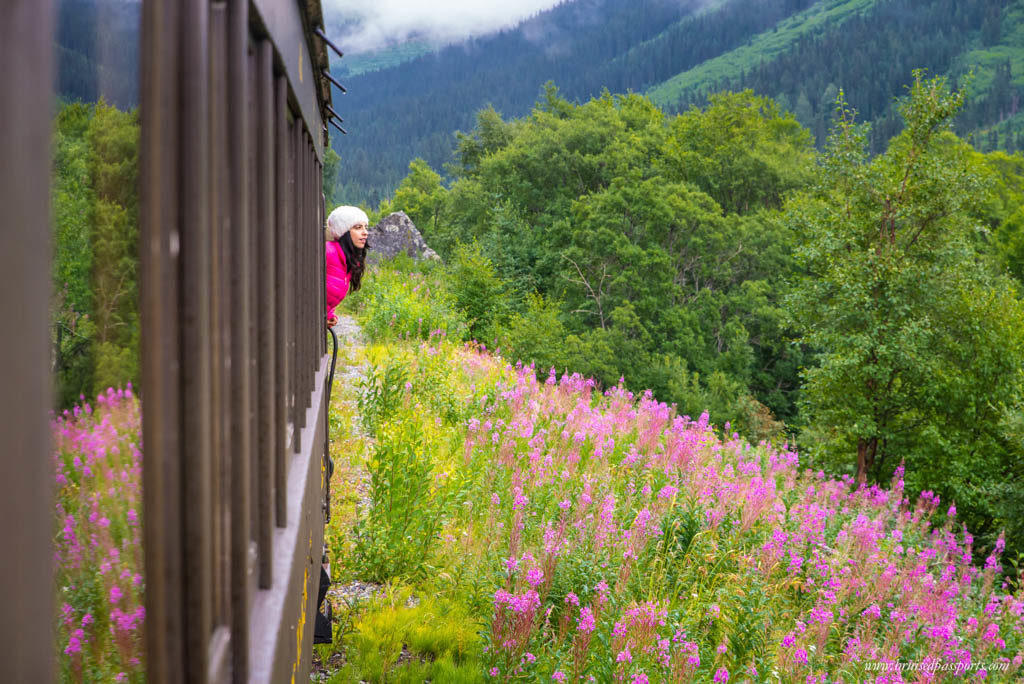 White Pass and Yukon Rail Girl