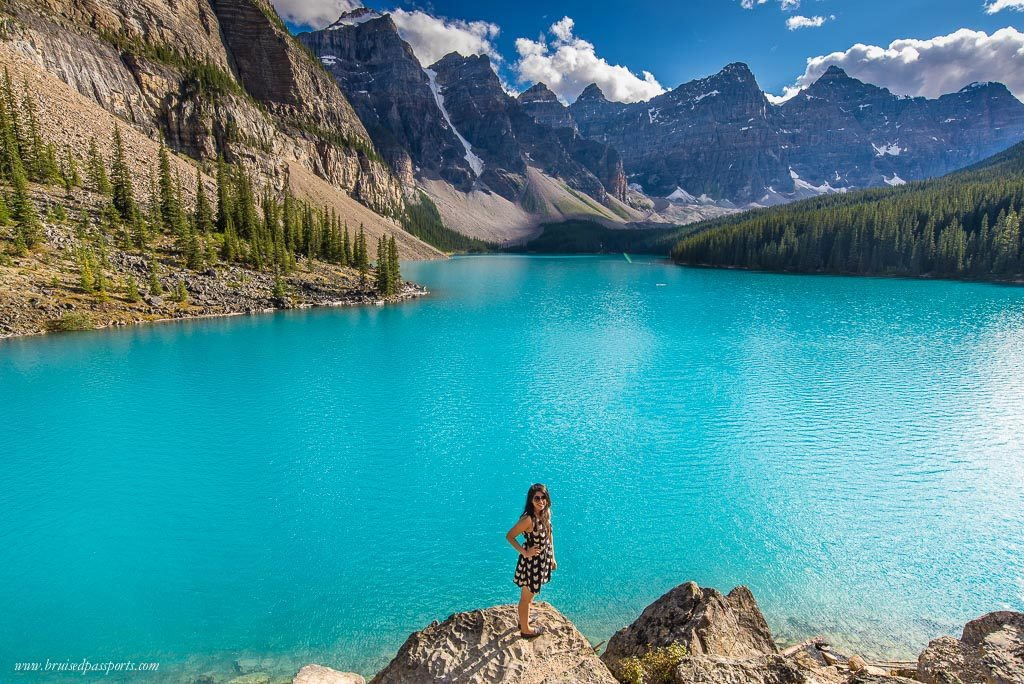 Lake Moraine Banff National Park