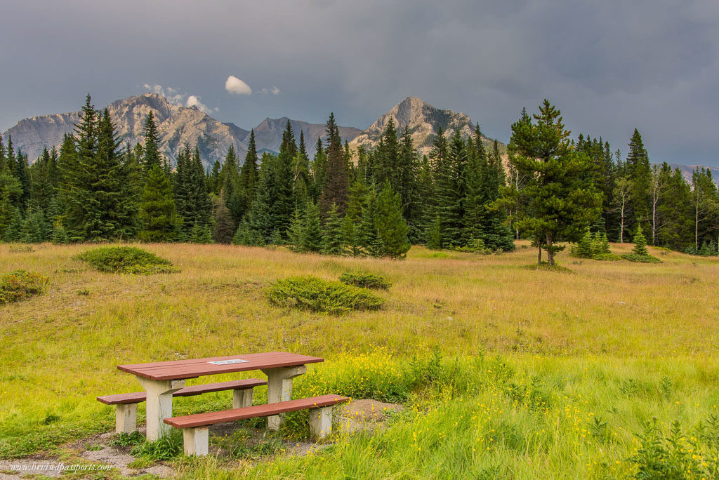 picnic spot Banff National Park