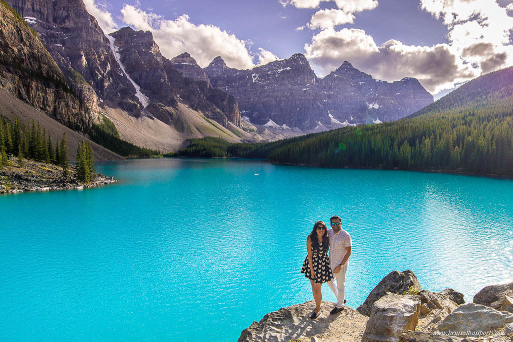 The two of us at Moraine Lake