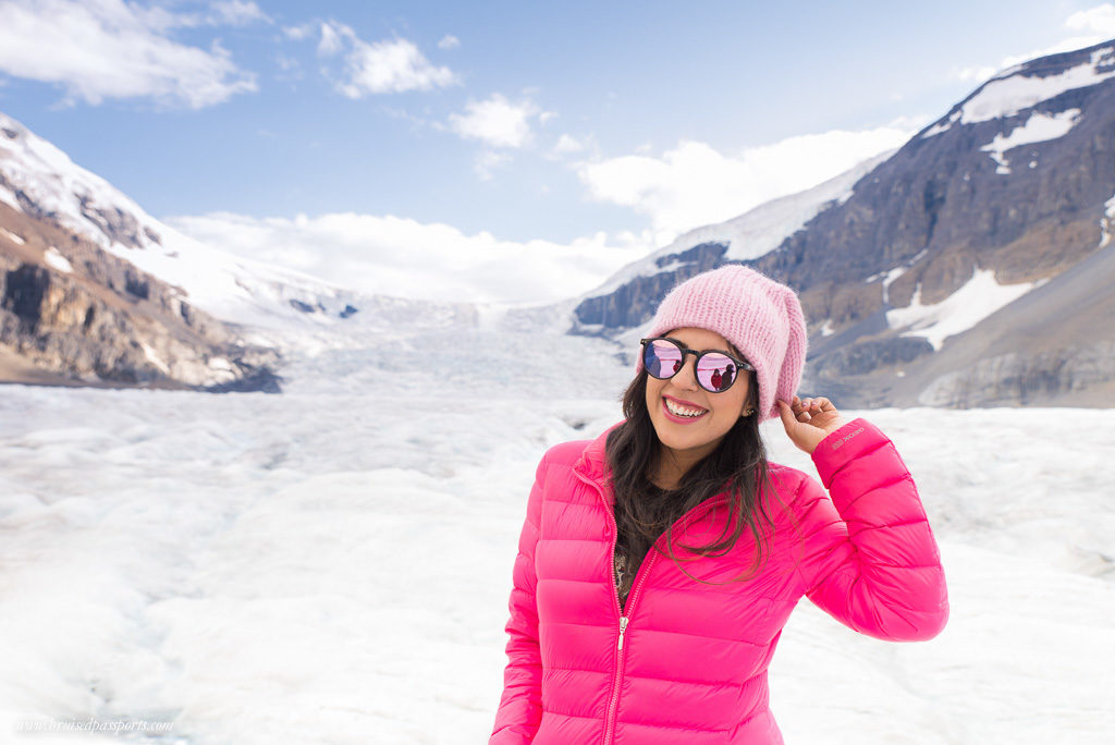 Glacier hopping in Canada :)