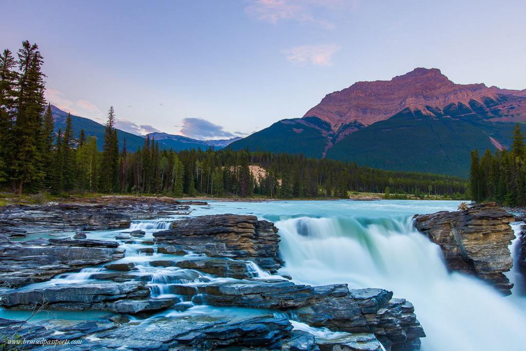 Athabasa falls Jasper National Park