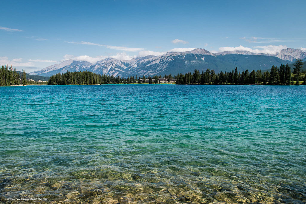 lake in Jasper national park Canada