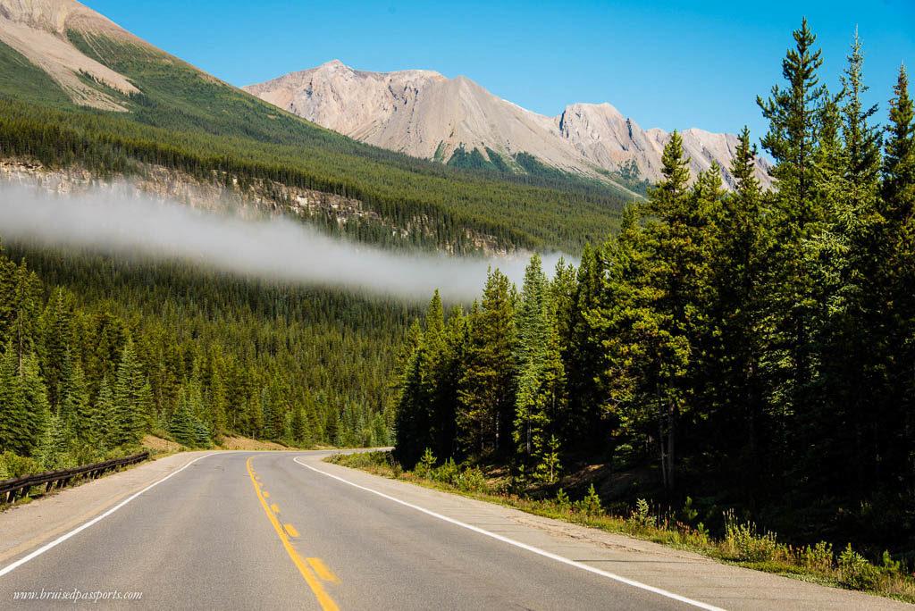Icefields parkway Banff to Jasper