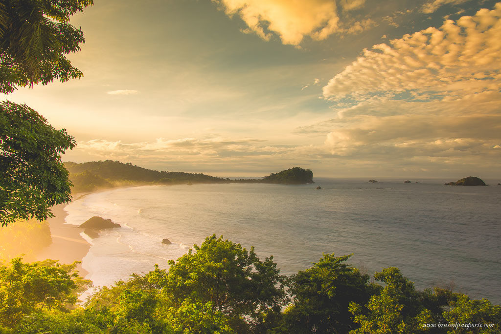 Manuel Antonio NAtional Park Beach Sunrise