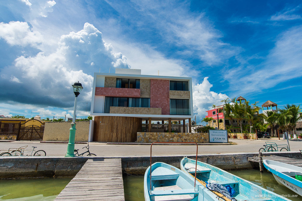 Yuum Ha boutique hotel Rio Lagartos Mexico