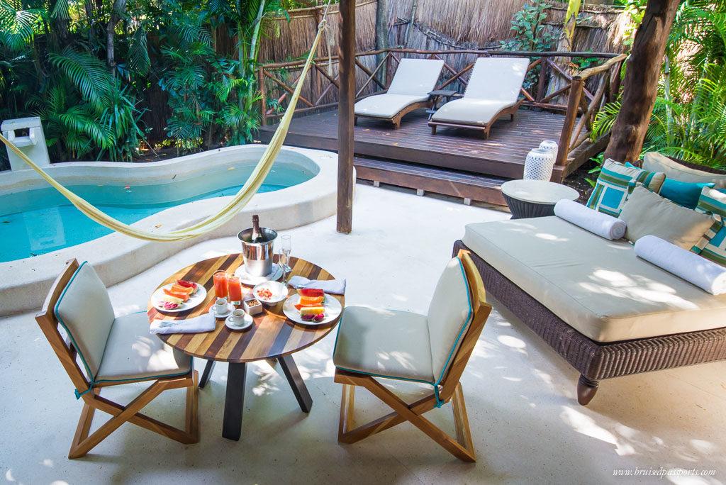Villa patio Viceroy Riviera Maya