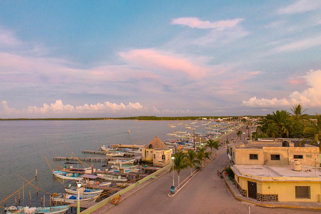 Rio Lagartos sunset
