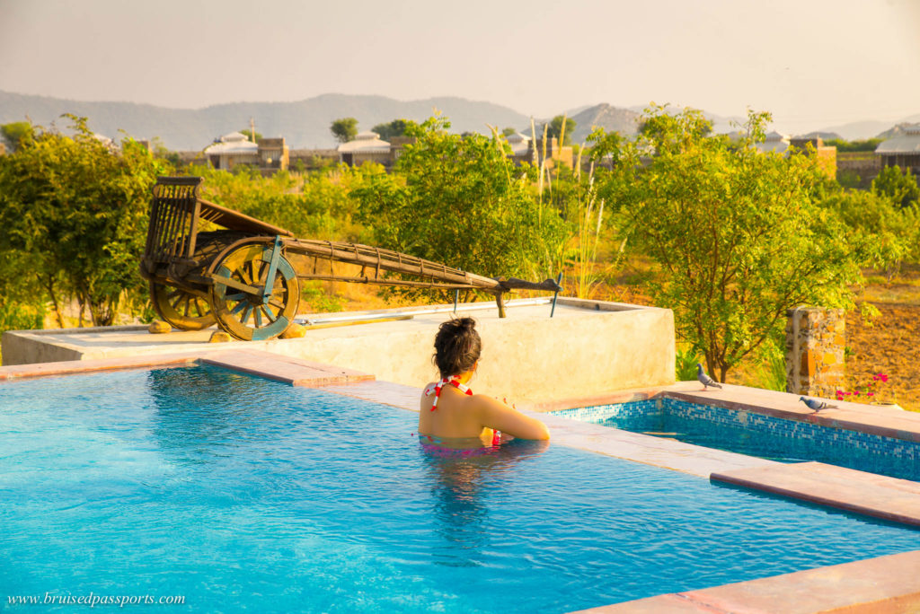luxury camp at V resorts Sariska weekend getaway from delhi