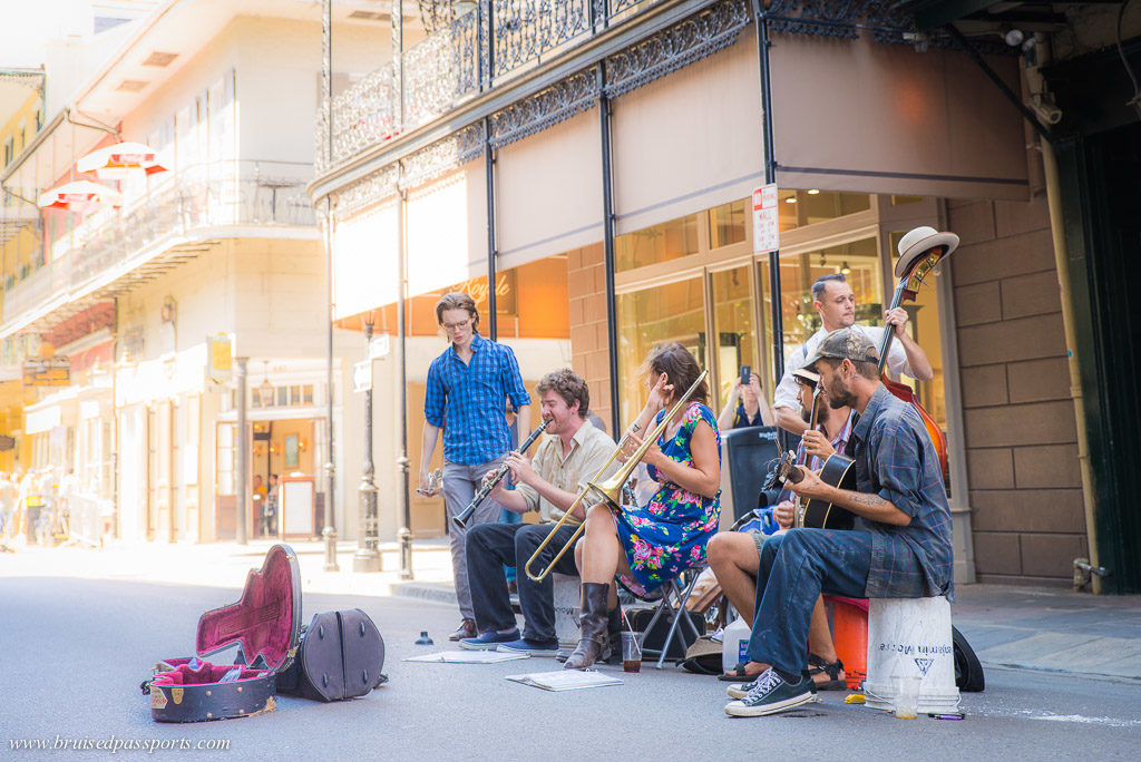 Music is everywhere in New Orleans :)