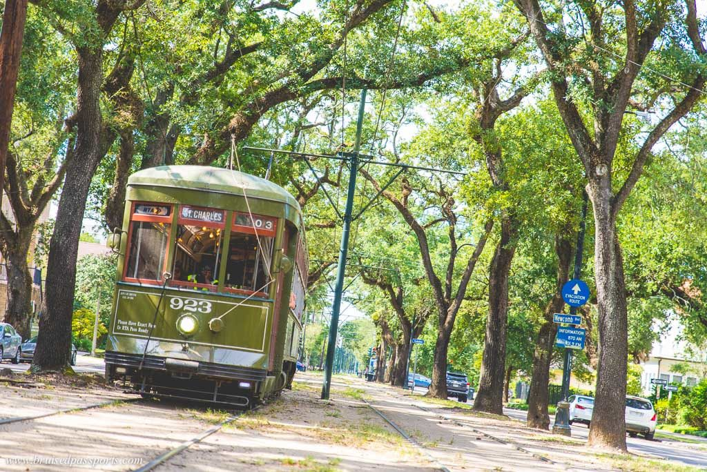 St. Charles tramway New Orleans