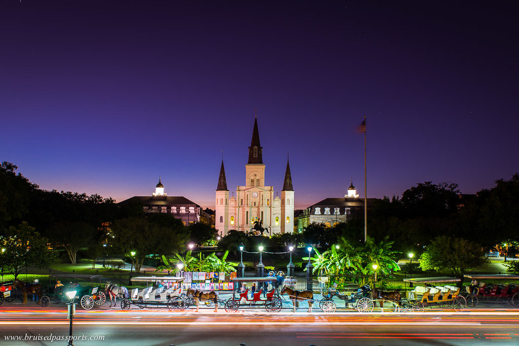 St. Louis Cathedral New Orleans Sunset